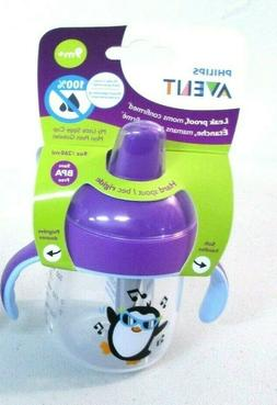 1 Philips Avent My Little Sippy Cup 9m+9 oz BPA Free baby mu