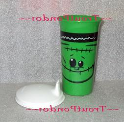 Tupperware 10 Oz Big Bell Tumbler Halloween Frankenstein Des