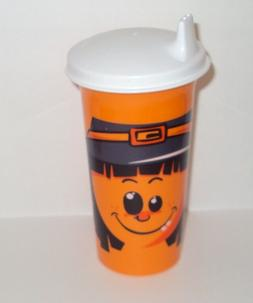 Tupperware 10 Oz Big Bell Tumbler Halloween Scarecrow Design