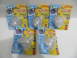 10 Nuby Super Spouts Replacements for 10 Oz Super Spout Easy