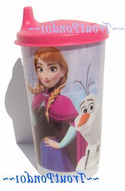 Tupperware 11 oz Tumbler Disney Frozen Anna Pink Sipper Seal