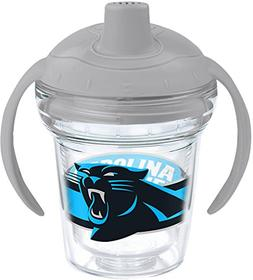 Tervis 1199386 NFL Carolina Panthers Sippy Cup with Lid, 6 o