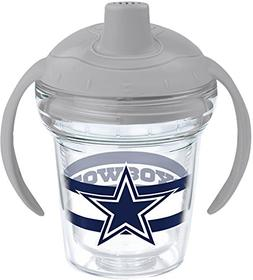 Tervis 1201381 NFL Dallas Cowboys Sippy Cup with Lid, 6 oz,