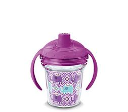 Tervis 1247809 Little Mendhi Elephants Sippy Cup with Lid, 6