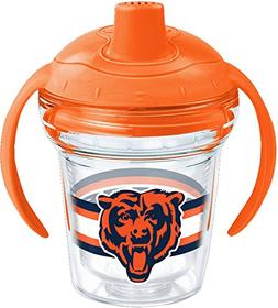 Tervis 1259925 NFL Chicago Bears Sippy Cup with Lid, 6 oz, C