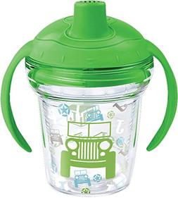 Tervis 1269537 J is for Jeep Brand Pattern Sippy Tumbler wit
