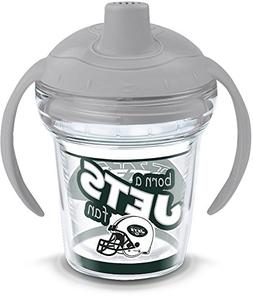 Tervis 1290811 New York Jets Born A Fan Sippy Cup with Lid,