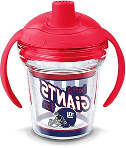 Tervis 1290812 NFL New York Giants Born a Fan Sippy Cup, 6 o