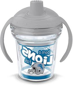 Tervis 1290882 NFL Detroit Lions Born a Fan Sippy Cup with L