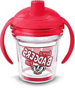 Tervis 1292053 NCAA Wisconsin Badgers Born a Fan Sippy Cup w