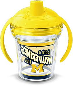 Tervis 1292273 Michigan Wolverines Born a Fan Tumbler with W