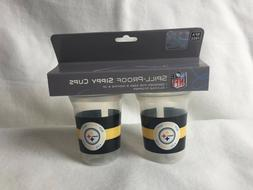 Baby Fanatic 143390 Pittsburgh Steelers Sippy Cups 2-pack