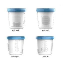 180ml Baby Breast Milk Storage Bottle Infant Newborn Food Fr