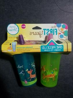 The First Years 18m+ Nature Forrest 9 Oz. Sippy Cup 2 Pk Sim