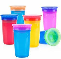 Nuby 1pk No Spill 360 Degree Wonder Cup - Colors