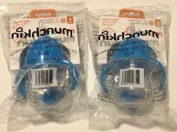 Munchkin Click Lock Weighted Flexi Straw Trainer Cups Blue