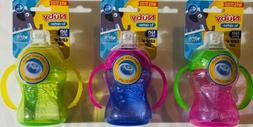 Nuby 2 Handle Super Spout No Spill Cup, Colors May Vary, 7 O