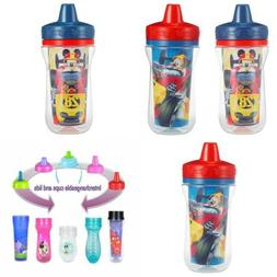 2 pack 9 ounce insulated sippy cup