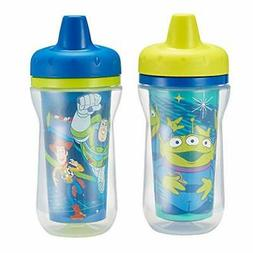 The First Years 2 Pack 9 Ounce Insulated Sippy Cup, Toy Stor