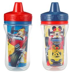 The First Years 2 Pack 9 Ounce Insulated Sippy Cup, Mickey M