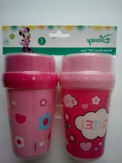 2-pack Disney Baby Minnie Mouse 360 cups