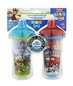 2 Pack Paw Patrol Munchkin Leak-Proof Insulated Sippy Cups 9