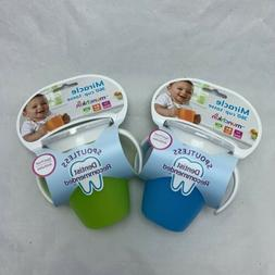2 Pack Munchkin Sippy Cup Miracle 360 No Spill Stopper Lid N
