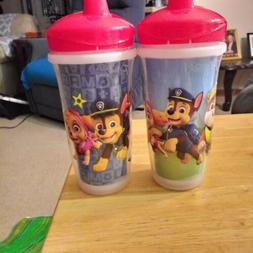 2 paw patrol sippy cups