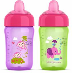 Philips Avent 2 Piece My Sip N Click Sippy Cup, 12 Ounce