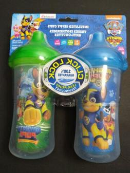 Munchkin 2 Pk Paw Patrol Mighty Pups Click Lock Insulated Si
