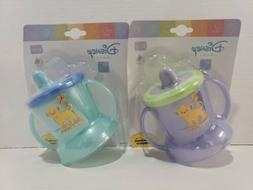 2 Tommee Tippee Toddler Spill Proof Sippy Cup with Handles N