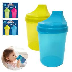 2Pc Kids Cups with Lids Toddler Trainer Sippy Cup Drinking J
