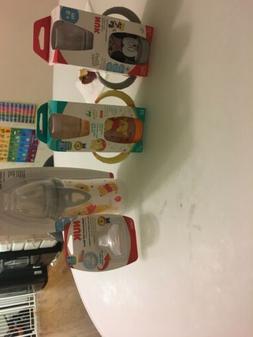 3 NUK Disney Sippy Cup,  + 1 Replacement Soft Spout