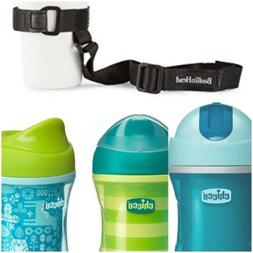 3 Chicco NaturalFit Insulated Sippy Cups Blue/Green and Sipp