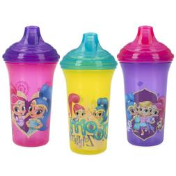 Nuby 3-Pack Nickelodeon Shimmer & Shine No-spill Easy Sippy