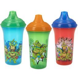 Nuby 3-Pack Teenage Mutant Ninja Turtles No-spill Easy Sippy
