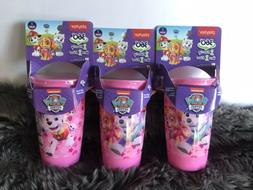 3 Playtex Sipsters Stage 2 Paw Patrol Girls Spoutless Sippy
