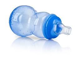 Nuby 3 Stage Non-Drip Bottle, Blue, 7 Ounce, 3 Months +