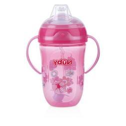 Nuby 360 2 Handle Comfort Cup, Girl, 9 Ounce, Girl