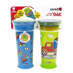 Sassy 360 Grow Up Cup Spout Less Sippy Cup