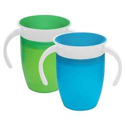 Munchkin 360 Miracle Trainer Sippy Cup with handles 7 Ounce