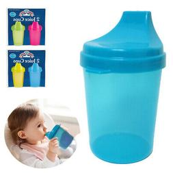 4PC Kids Juice Cups with Lids Toddler Trainer Sippy Cup BPA
