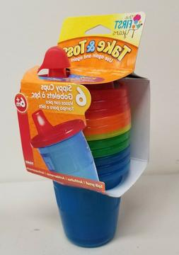 6-Pack 7 Ounce Take & Toss Spill-Proof Food Grade BPA Free K