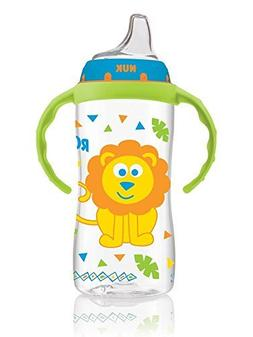Nuk 62911 10 Oz NUK  Learner Cup With Handles Assorted Desig