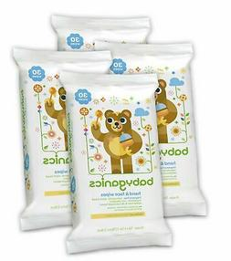 Babyganics Hand & Face Wipes, Fragrance Free, 30 Count