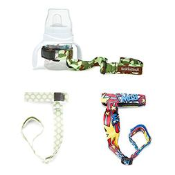 BooginHead Set of 3 - SippiGrip Sippy Cup and Bottle Holder,