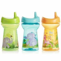 Evenflo Feeding Zoo Friends Tripleflo Sippy Cups with Three