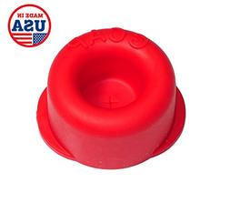 GCap BPA-Free, Spill Proof, Bottle Top Cover Sealing Lid for