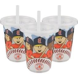 MLB Boston Red Sox Baby Fanatic Sip N Go Cups, Pack of 3