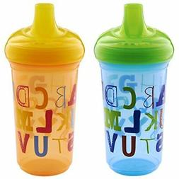 Munchkin Alphabet Sippy Cup, 9 Ounce, 2 Count